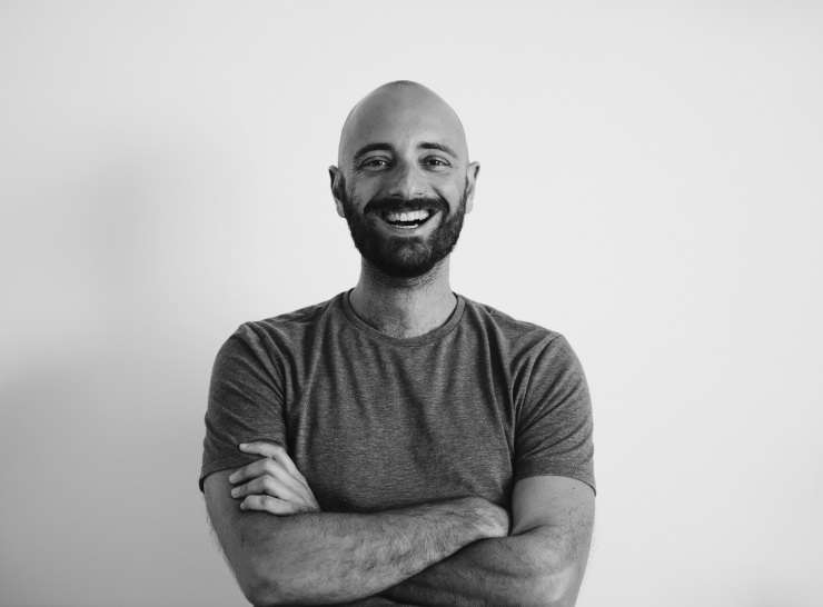 Will Privitera, Founder of Men's Morning Circle. Image by David Zammit