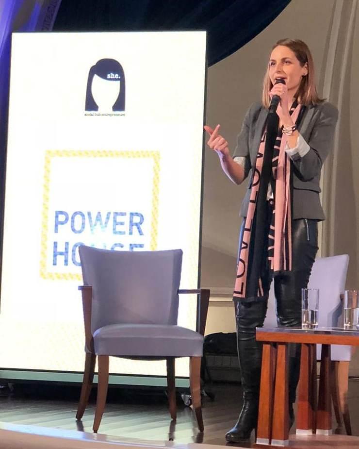 Speaking at SHE: Social Hub Entrepreneurs, November 2018