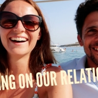 Pete and I work on our relationship VLOG // Arguments & Jellyfish Stings