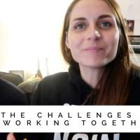 Working together as a couple // Preparing for the workshop with Pete