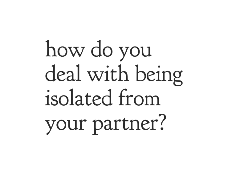 social isolation, partner, boyfriend, girlfriend, emma hogg, psychotherapist, a life i choose