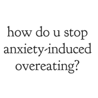 Free yourself from anxiety-induced overeating